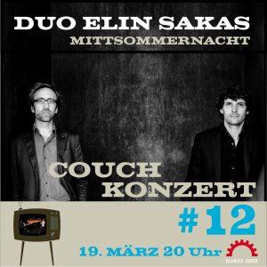 Couch-Konzerte: DUO ELIN-SAKAS @ Konzertstream