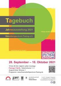 Jahresausstellung des KünstlerSpectrum Pasing e.V.: TAGEBUCH @ Galerie 1 - 3